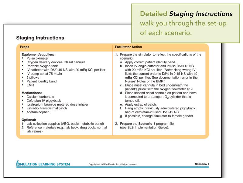 Designing prehospital medical simulation scenarios.
