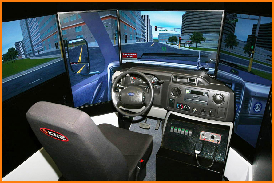 Driving Simulator from SimTech