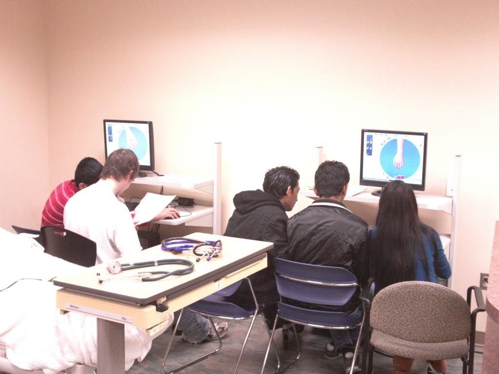 high school medical simulation