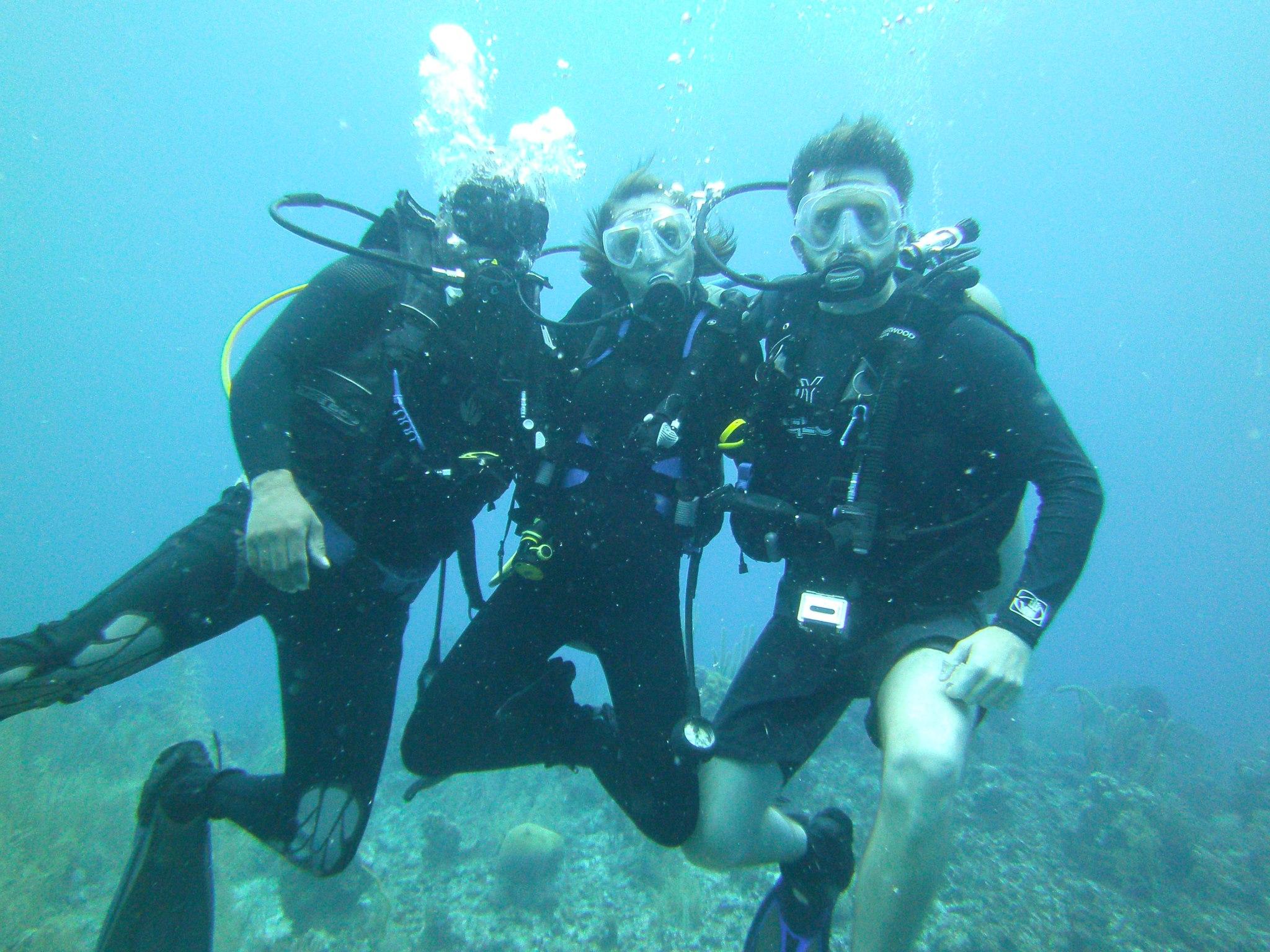 To Scuba Dive