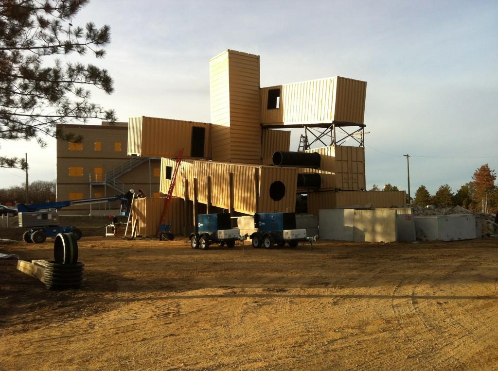 collapsed structure simulator