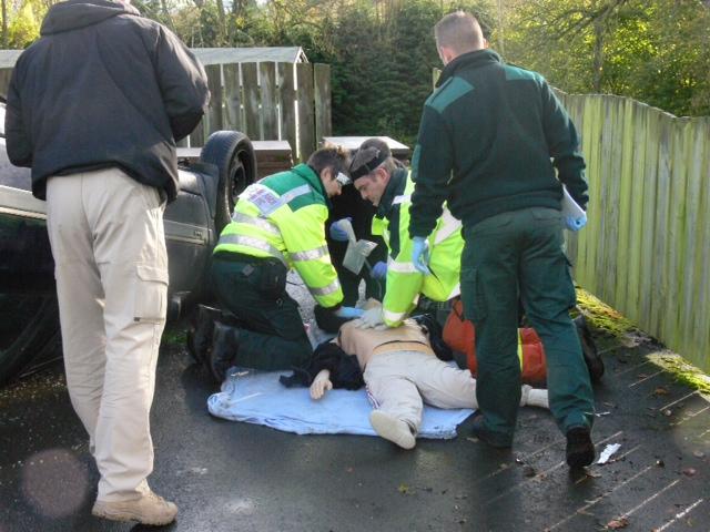 paramedic simulation scenarios