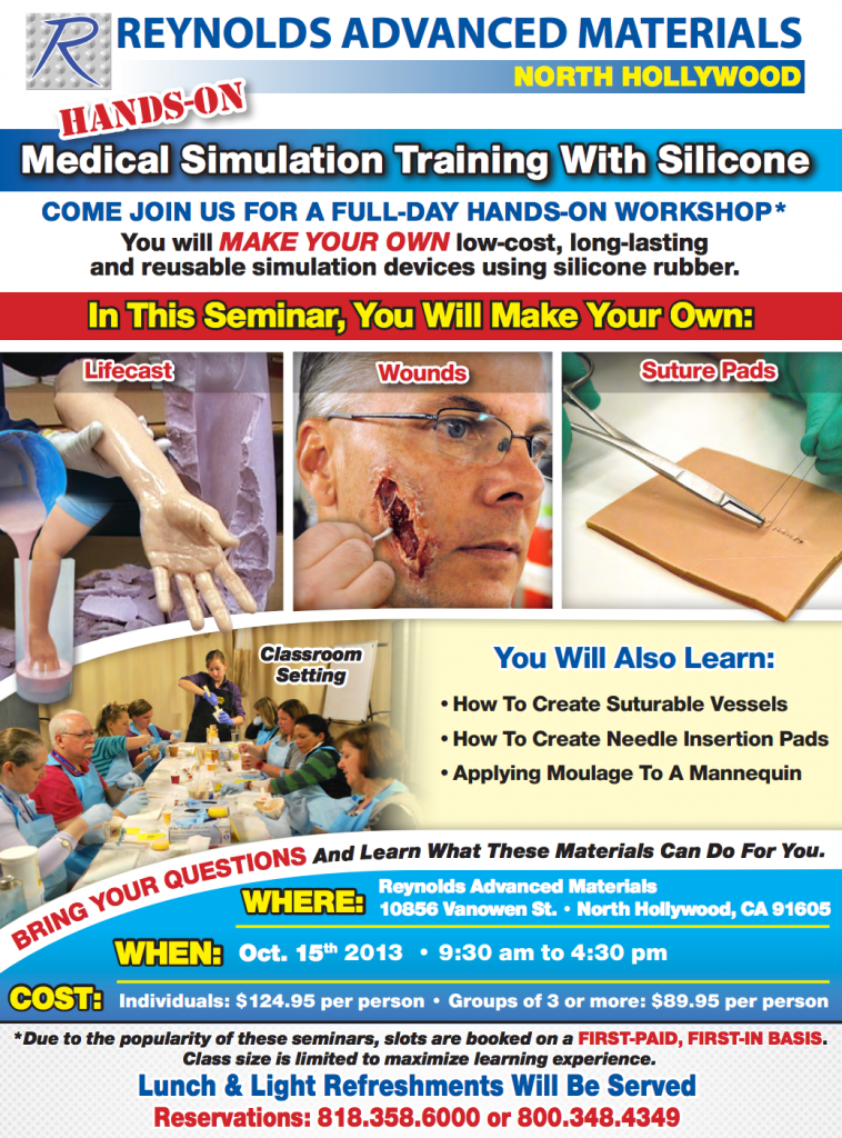 moulage training course