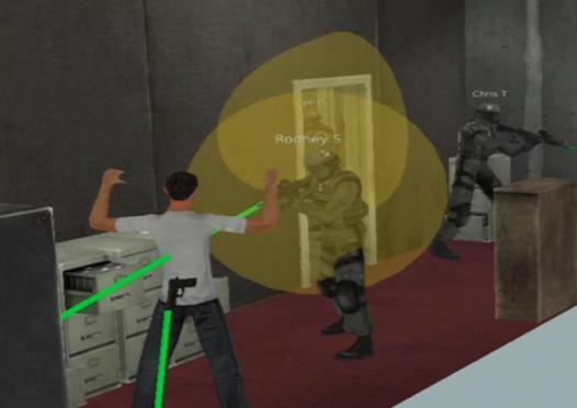 military vr simulator
