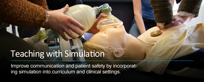 teaching medical simulation