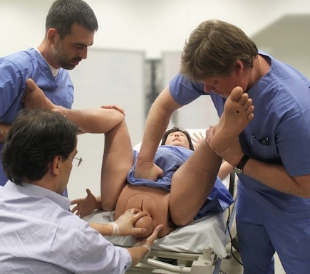 fidelis birthing simulator cae healthcare