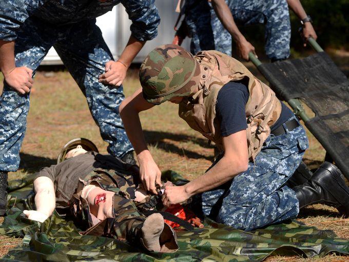 military medical simulation