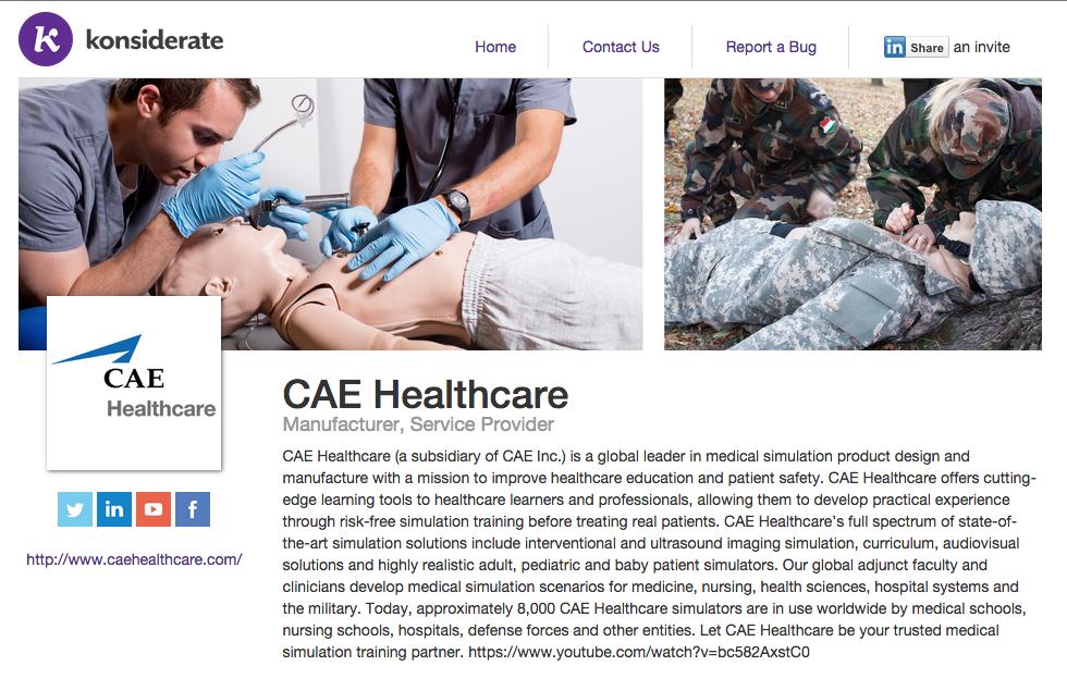 cae healthcare reviews