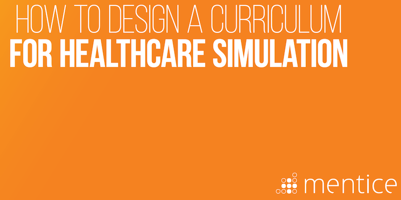 how to develop medical simulation cirriculum