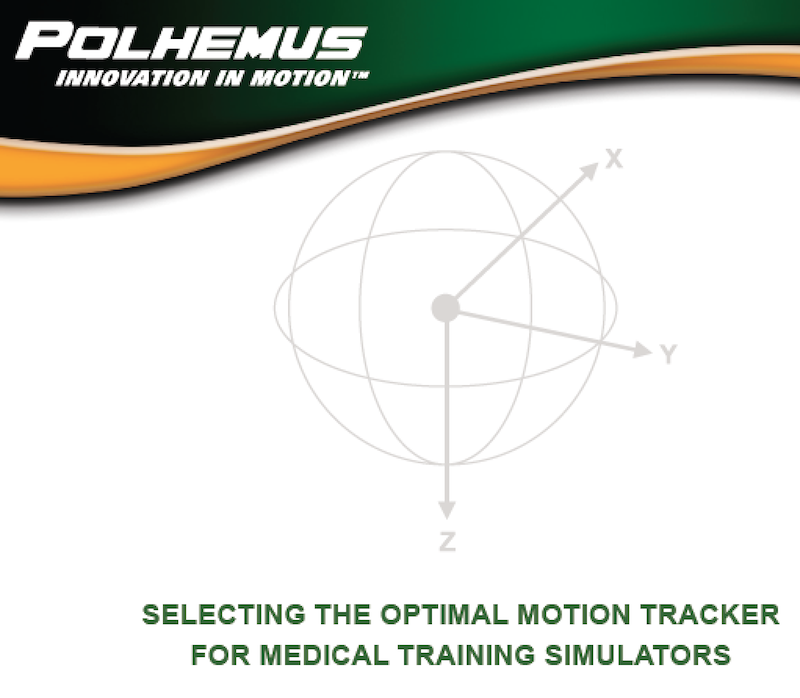 polhemus motion tracking for simulation