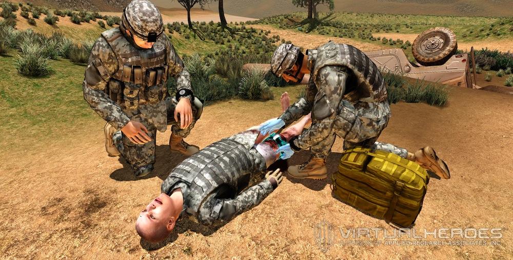 combat simulation healthcare
