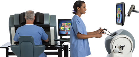 robotic surgery medical simulation trainer