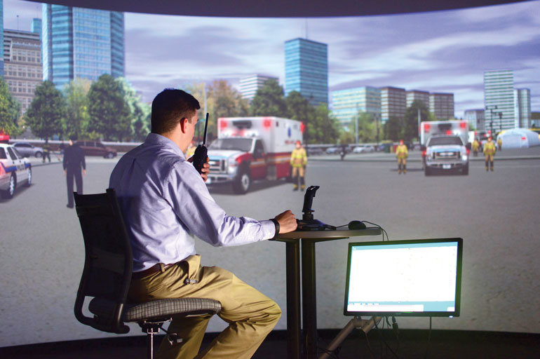 response simulation for ems and ed