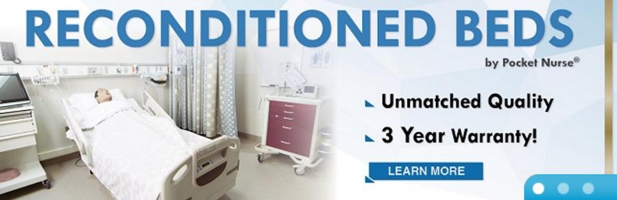 refurbished hospital beds