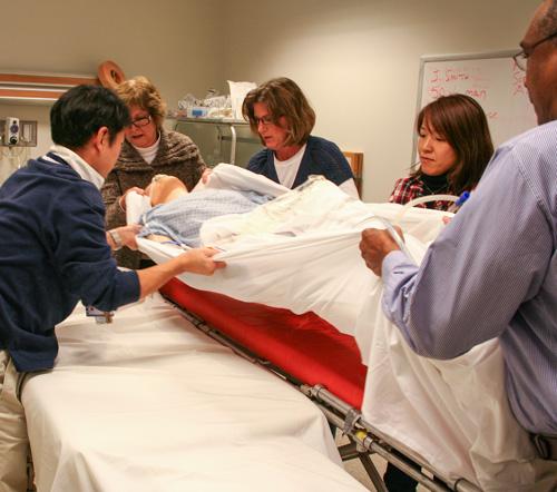 healthcare simulation training program