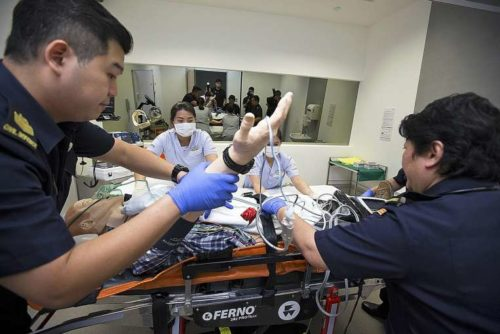 250 SCDF paramedics to hone skills in hospitals
