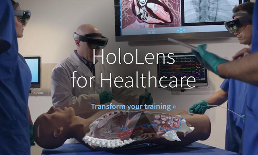 cae healthcare hololens ultrasound simulator ar