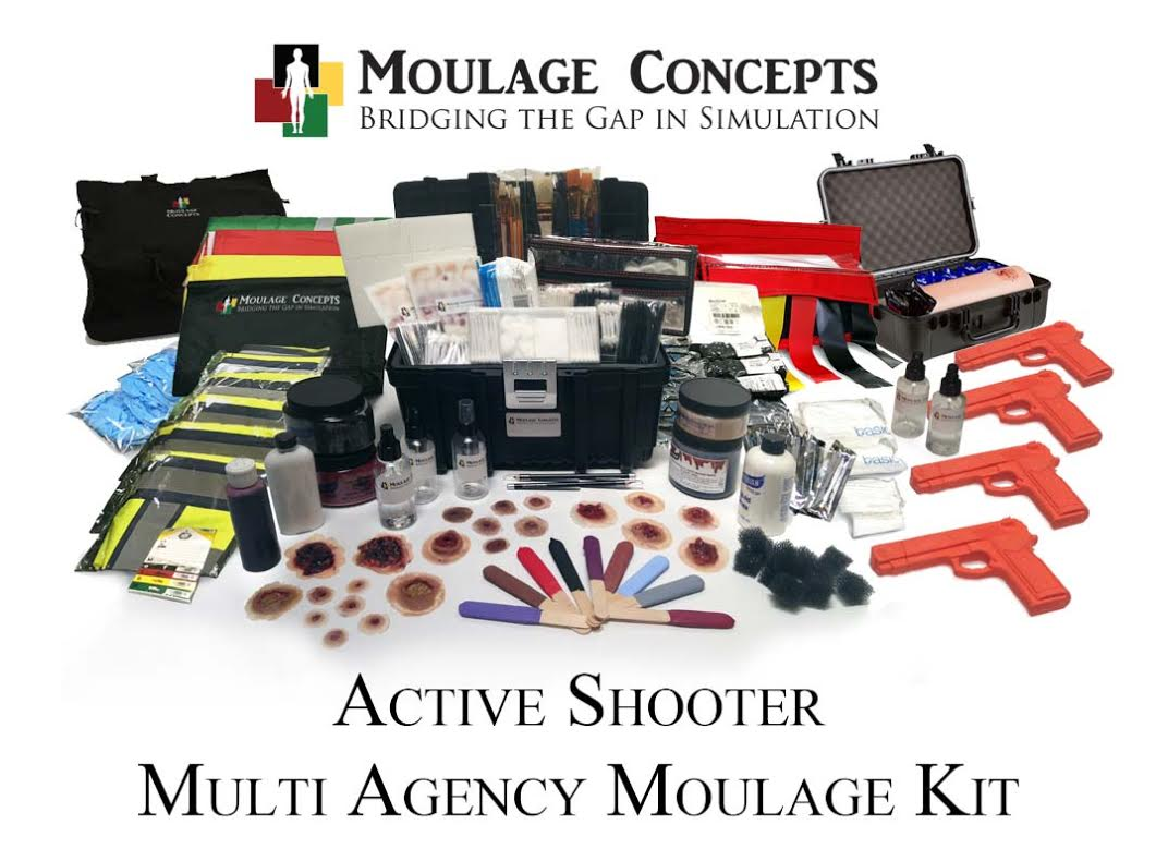 active shooter moulage training program kit