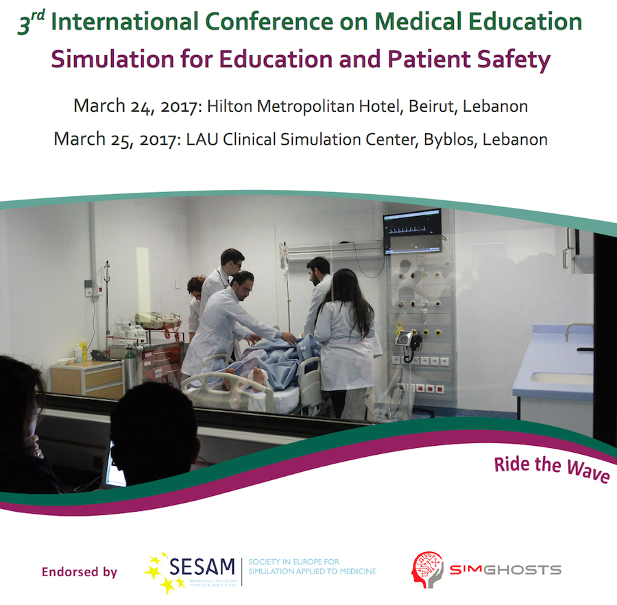 learning in healthcare simulation lebanon