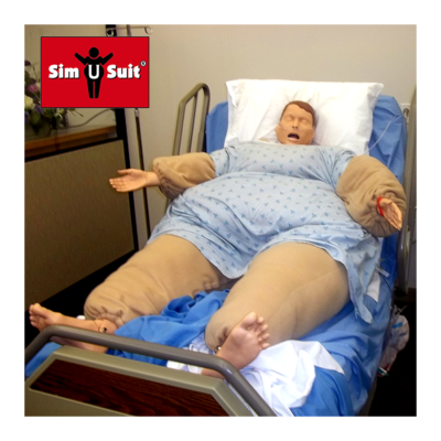 obesity healthcare simulation suit