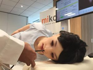 Realistic 'Mikoto' 3D printed medical training robot developed in Tottori, Japan