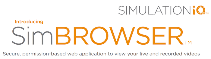 simbrowser for healthcare simulation recordings