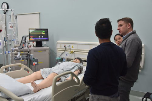 Hospital simulations inspire student innovators