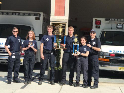 South Orange Rescue Squad Cadets Bring Home Gold