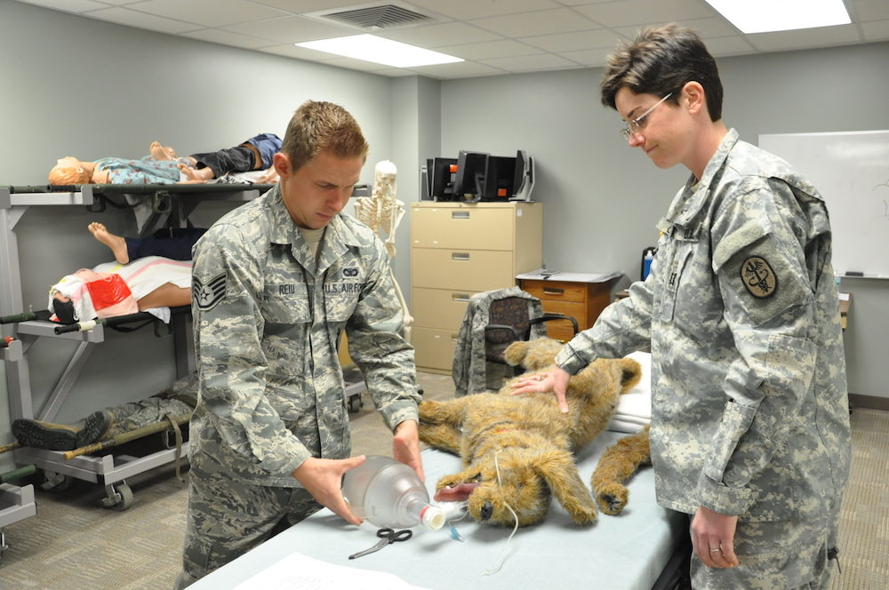 healthcare simulation job air force