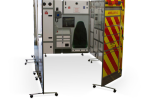 fold away ambulance walls