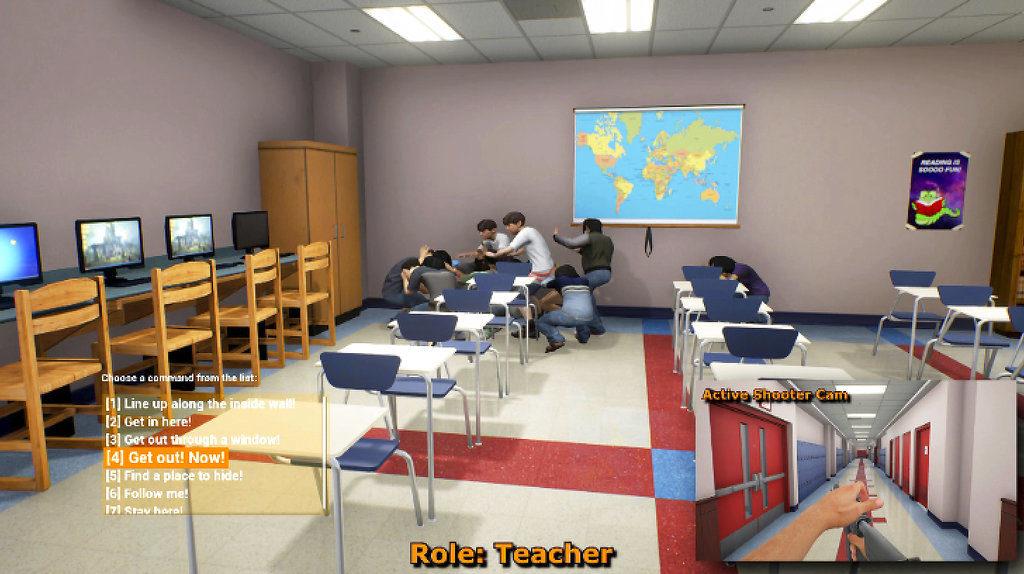 U S  Army Trains Teachers Against School Shootings with