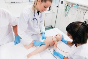 laerdal medical simbaby simulator