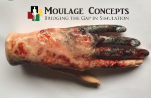 Bobbie Merica & Moulage Concepts Lead the Way for Healthcare Simulation Realism