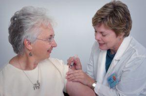 simulated vaccine training for nursing students