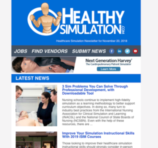 Healthcare Simulation Newsletter