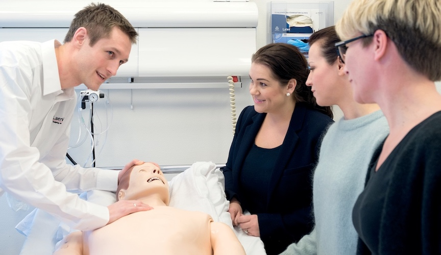 simulation professional development assessment