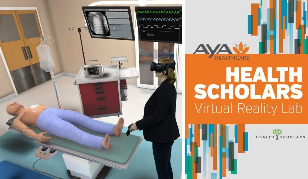 Health Scholars VR Aya Healthcare