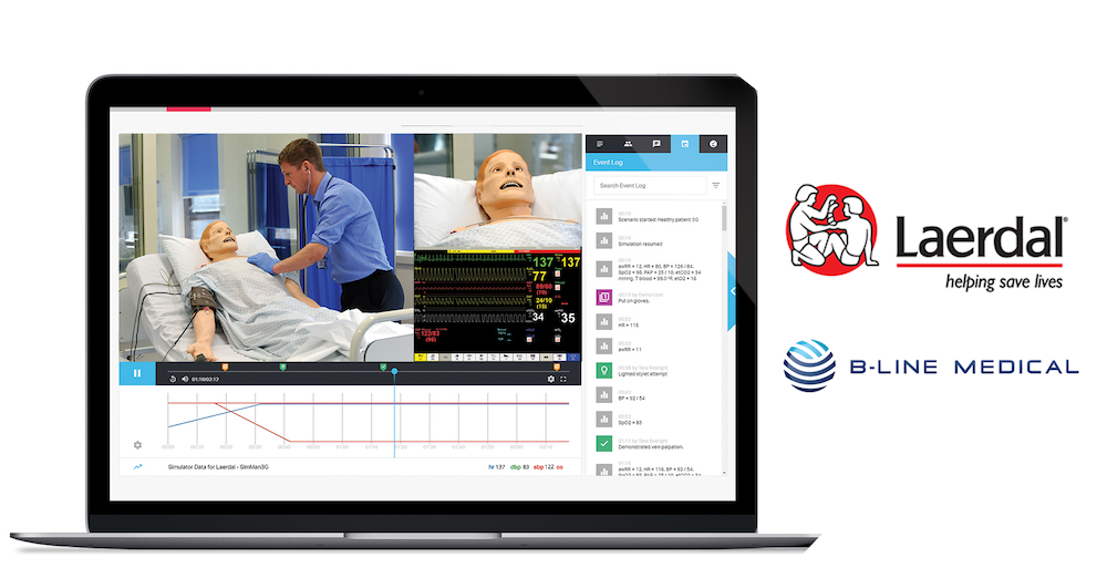 Laerdal and B-Line Medical Partnership