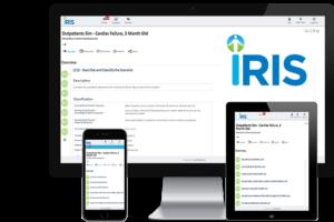 IRIS simulation writing