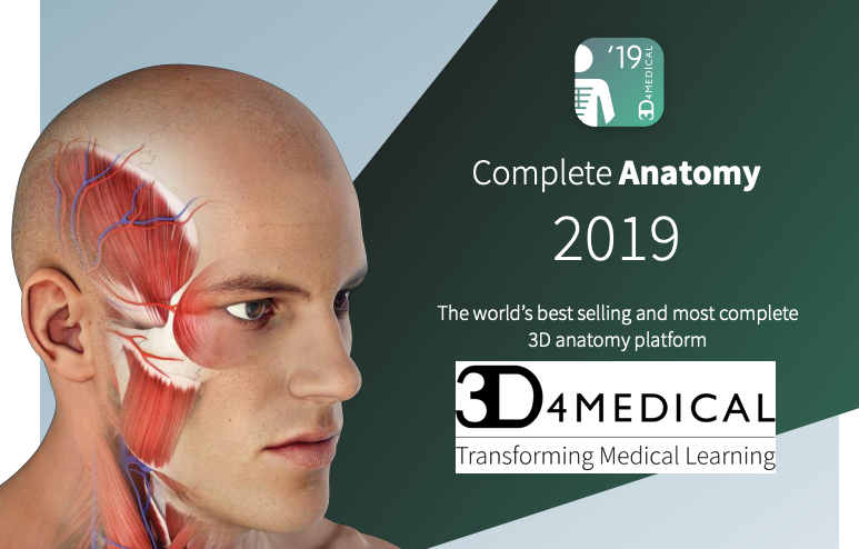 3D4Medical Anatomy 2019