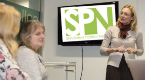 Simulated Patient Network