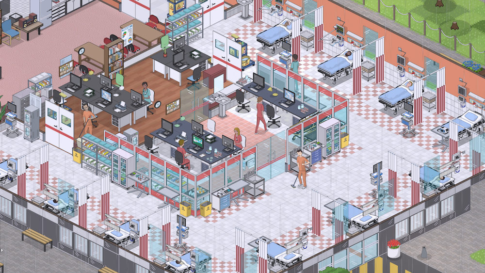 Hospital Simulator Game