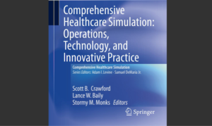 healthcare simulation operations book