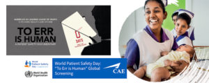 World Patient Safety Day CAE Healthcare