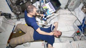 space medical simulation