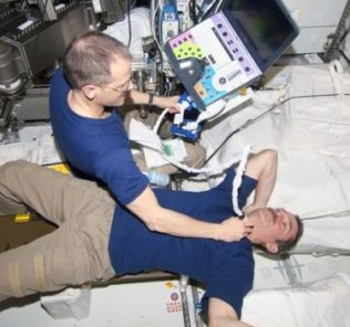space medical simulation
