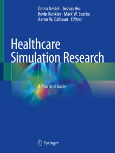Healthcare Simulation Research Book