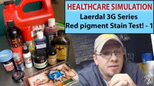 SimMan 3G Stains