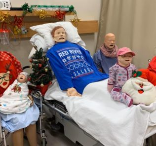 Healthcare Simulation Christmas Photo