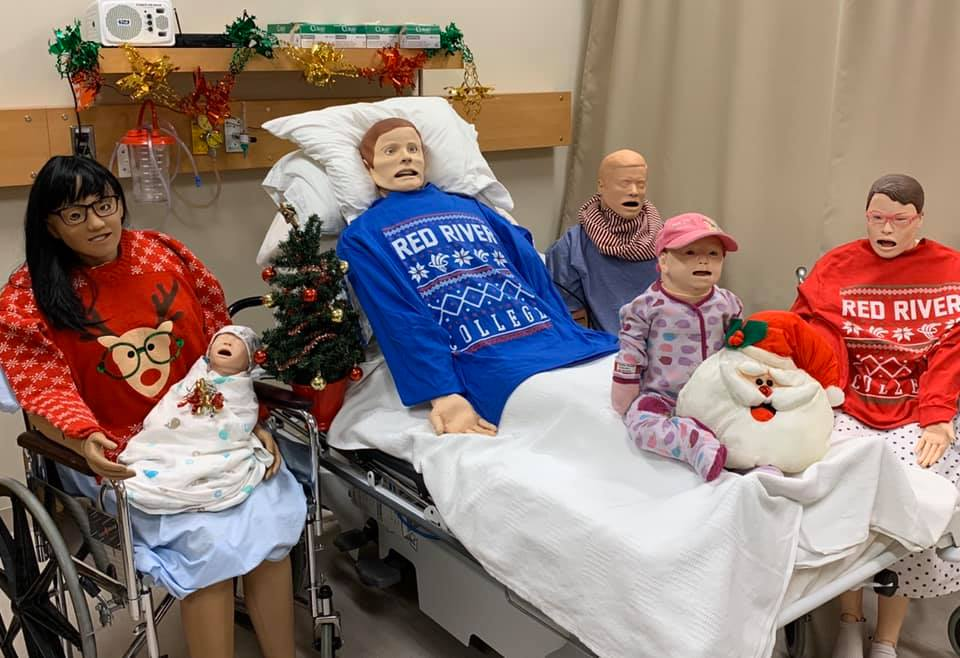 Healthcare Simulation Christmas Photo